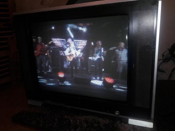 Tv Convencional Sankey Ct-21pf7c Usado 100% Operativo.