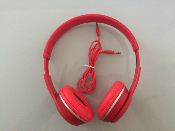 Promoção! Fone De Ouvido Inova Com Microfone Vermelho