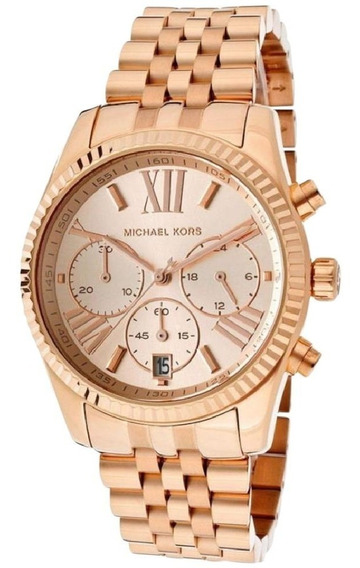 Relógio Michael Kors Lexington Mk-5569 - Full Gold