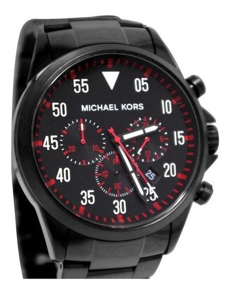 Relogio Michael Kors Mk8332 Novo - Caixa - Manual Preto/ver
