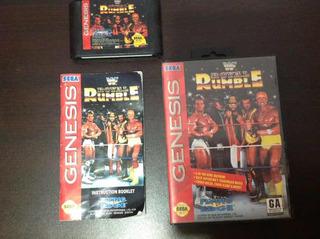 Wwf Royal Rumble - Sega Genesis