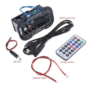Coche Bluetooth Casa Hifi Bajo Energía Digital Amplificador