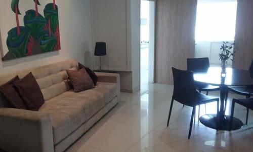 Flat Com 1 Dormitório, 56 M² - Venda Por R$ 1.207.500,00 Ou Aluguel Por R$ 4.000,00/mês - Leblon - Rio De Janeiro/rj - Fl0242
