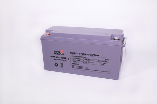 Bateria Gel 12v 150ah Marca Max Power