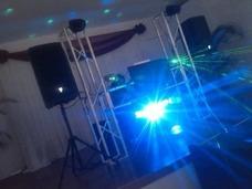 Display Sonido Karaoke Robot Led Puff Mesas De Vidrio Sillas