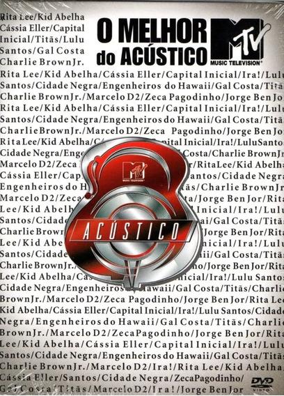 Dvd O Melhor Do Acustico Mtv - Original E Lacrado