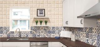 Recubrimiento Ceramico Para Muros Tipo Talavera .5m2