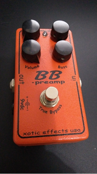 Bb Pre Amp Xotic Boss Jhs Fire Over Drive