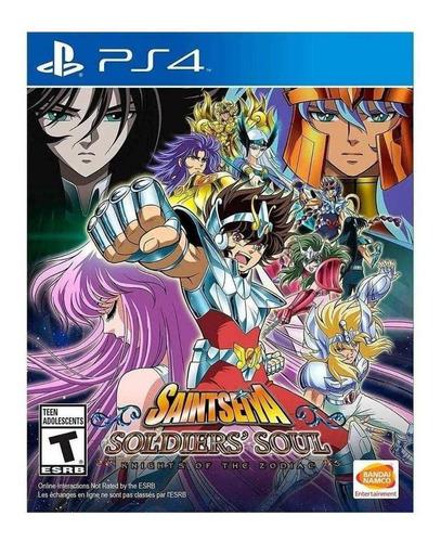 Imagen 1 de 4 de Saint Seiya: Soldiers' Soul Bandai Namco PS4  Físico