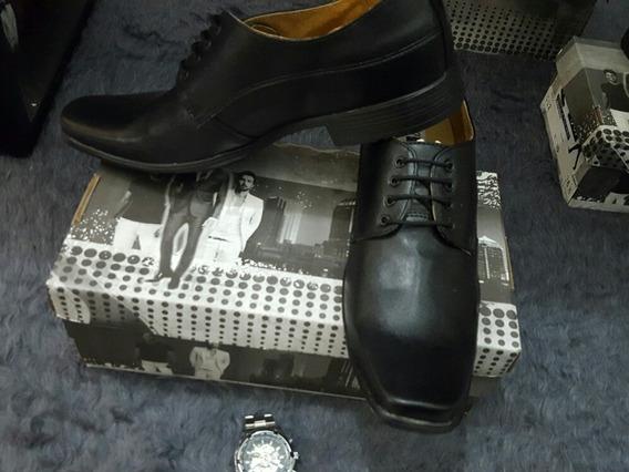 Zapatos Negro De Vestir Caballero Elegante Formal