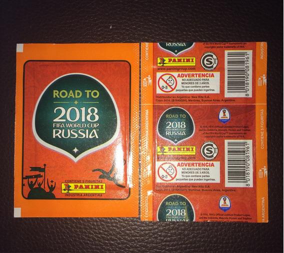 Envelope Road To Rússia 2018 Versão Argentina
