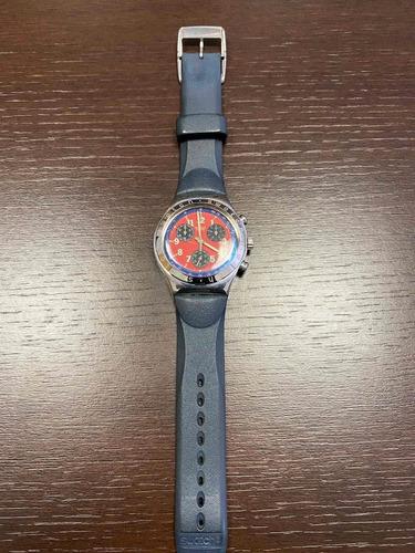 Raro Relógio Swatch Irony Chrono Ycs405c