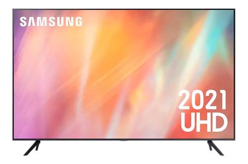 Imagen 1 de 10 de Televisor Samsung 43  (110 Cm) Led 4k Smart Tv Un43au7000kxz