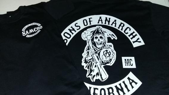 Remera 100% Algodon Sons Of Anarchy