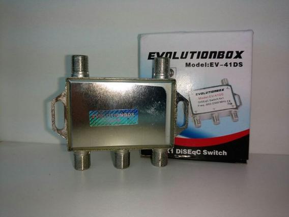 Chave Disec 4 X1 Original Evolution Para Antena Ku E Banda C