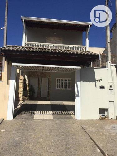 Casa Com 3 Dormitórios À Venda, 130 M² Por R$ 390.000,00 - Santo Antonio - Vinhedo/sp - Ca3606