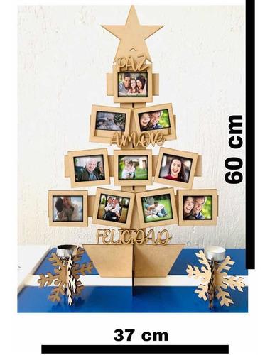 Árbol De Navidad/fotos/madera/mdf/decoración/copo De Nieve