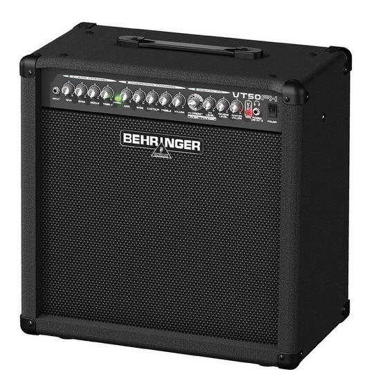 Amplificador Guitarra Behringer Virtube Vt50fx 60w 2 Canales