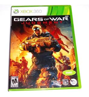 Videojuego Gears Of War Judgment Xbox 360 Y Xbox One Sellado