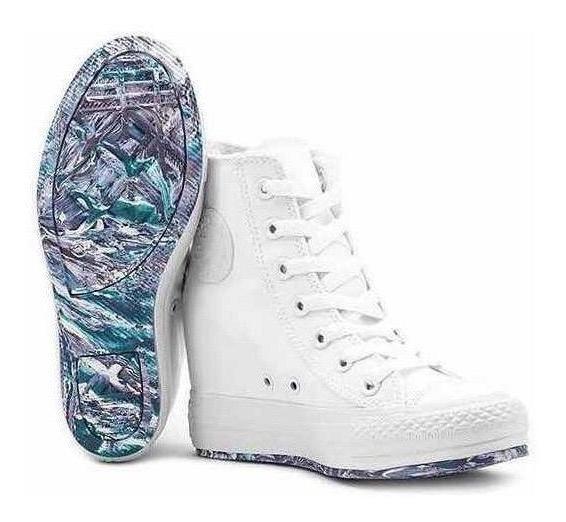 zapatillas converse mujer con taco