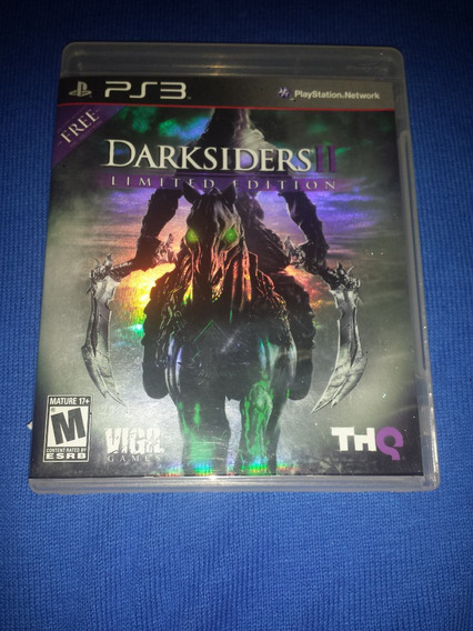 Darksiders Ii 2 Limited Edition Ps3 Frete R$10