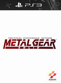 Metal Gear Solid Ps1 Classics Para Ps3 Digital Psn