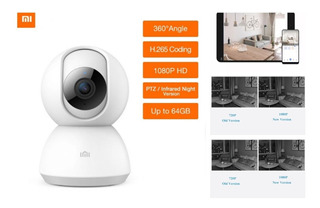 Camara Ip Xiaomi Full Hd 1080p 36g Vision Noctura