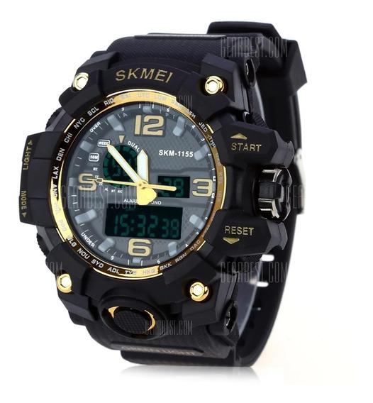 Relógio - Skmei 1155 Men Led Digital Quartz Watch