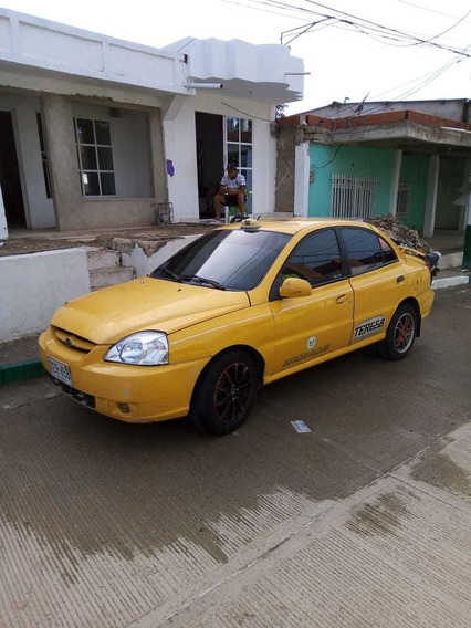 Taxi Kia Rio 2013 Al Dia De Todos Los Papeles