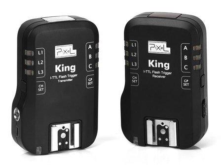 Rádio Flash Transmissor E Receptor Nikon King I-ttl Wireless