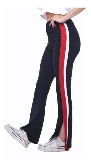 Customs Ba Calzas Mujer Calza Pantalon Chupin Rayas
