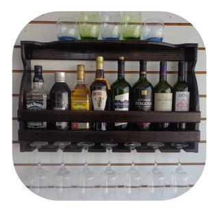 Mini Adega Em Madeira Multi Bebidas Barzinho Parede 69x43-8g