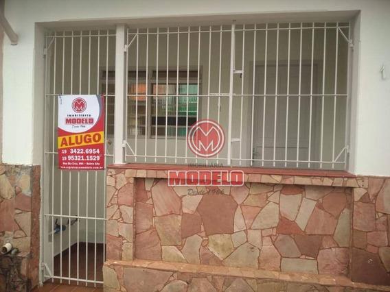 Casa Com 2 Dormitórios Para Alugar, 80 M² Por R$ 800/mês - Centro (tupi) - Piracicaba/sp - Ca2885