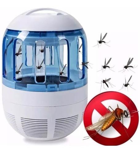 Luminária Led Mata Mosca Mosquito Insetos Elétrico Usb