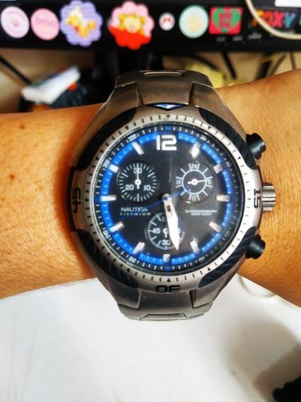 Relógio Nautica Titaniun Cronograph N28514