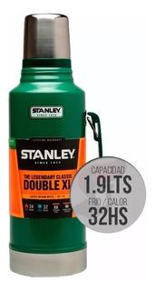 Termo Stanley Clasico 1,9 Lts Doble Xl 32hs Frio/calor