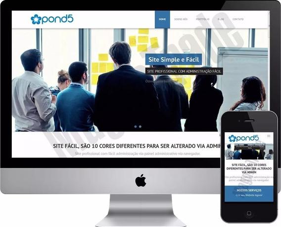 Instalação Script Php Site Institucional Empresas Comercio