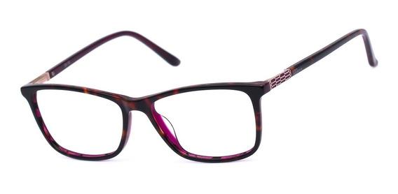 Armação Oculos Ogrife Og 2151-c Feminino Com Lente Sem Grau