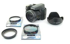 Kit Fuji S4800 S4200 Anel Adaptador + Uv + Cpl + Parasol