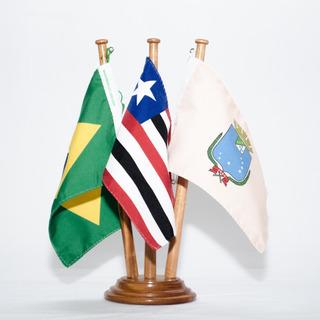 Bandeira De Mesa Brasil Maranhão São Luís