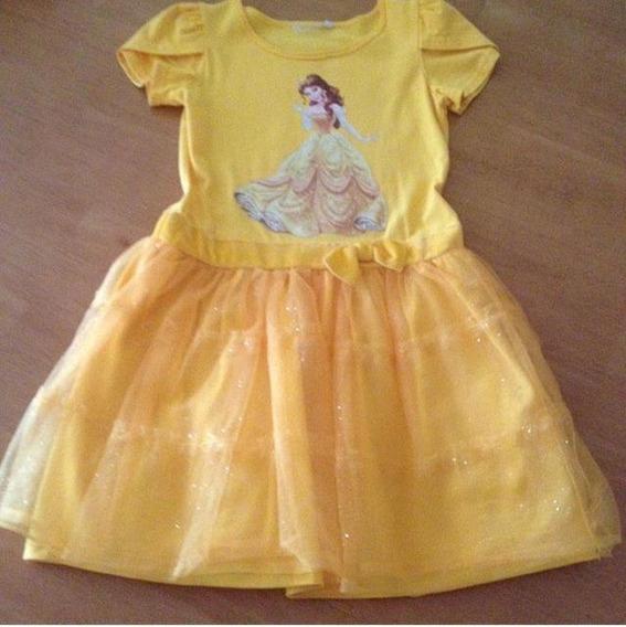 Vestido Princesa Bella, Marca Epk, Talla 6.
