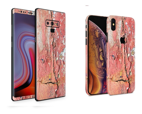 Skin Pared Dañada Apple Samsung Huawei Lg Sony Xiaomi Etc