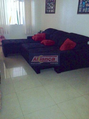 Sobrado Com 3 Dormitórios À Venda, 230 M² Por R$ 500.000,00 - Jardim City - Guarulhos/sp - Ai6676