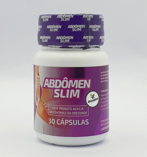 Abdômen Slim Original Cápsulas Roxas