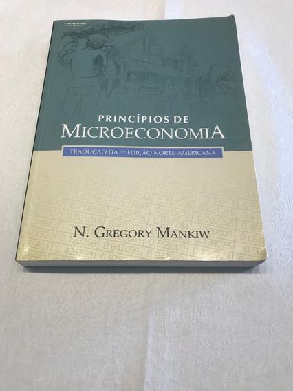Livro Princípios De Microeconomia - Mankiw