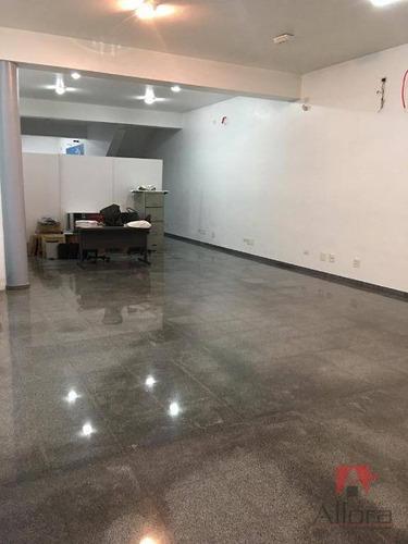 ***sala Comercial Ampla Na Principal Via De Atiabia*** 250 M² Por R$ 8.000/mês - Al Lucas Nogueira - Atibaia/sp - Sa0204