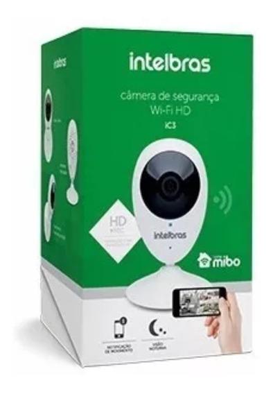 Câmera Ip Intelbras Mibo Ic3 Hd 720p Wi-fi