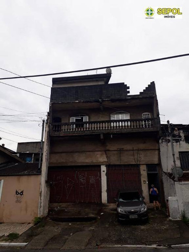 Casa Com 2 Dormitórios À Venda, 200 M² Por R$ 600.000,00 - Jardim Egle - São Paulo/sp - Ca0270