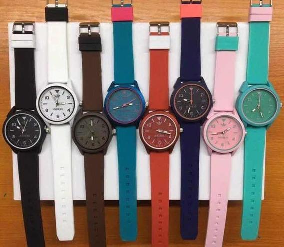 Relógios Borracha Kit Com 10