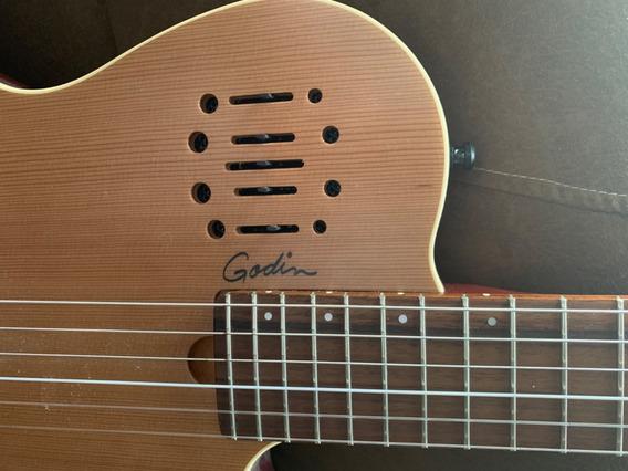 Guitarra Electroacustica Godin Canadiense